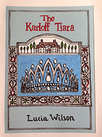 Cover illustration for Karloff Tiara by Anne Bowes